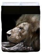 A Lions Portrait Duvet Cover