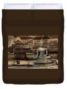 A Little Buddha Duvet Cover