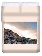 A Long Climb Duvet Cover