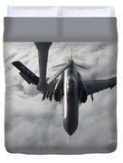A Luftwaffe F-4f Phantom II Approaches Duvet Cover