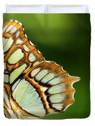 A Malachite Butterfly Duvet Cover