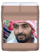 A Man From Jericho Duvet Cover