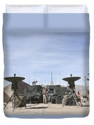 A Marine Unmanned Aerial Vehicle Duvet Cover