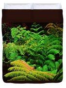 A Mass Of Ferns Duvet Cover