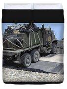 A Medium Tactical Vehicle Replenishment Duvet Cover