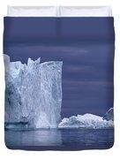 A Midnight Cruise Around The Ilulissat Duvet Cover