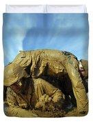 A Midshipman Crawls Through Fellow Duvet Cover