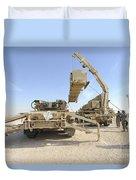 A Missile Reload Certification Duvet Cover
