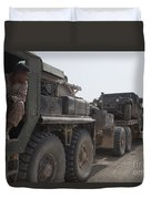A Mk48 Logistics Vehicle System Duvet Cover