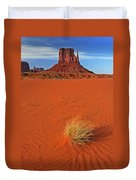 A Monument Valley View Duvet Cover