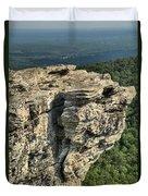 A Mountain Perspective Duvet Cover