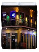 A Night In The French Quarter Duvet Cover