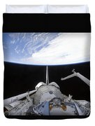 A Partial View Of The Tranquility Node Duvet Cover by Stocktrek Images