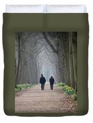 A Peaceful Stroll Duvet Cover