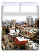 A Philadelphian View Duvet Cover