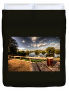 A Pint With A View  Duvet Cover