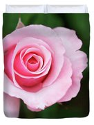 A Pretty Pink Rose Duvet Cover