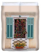 A Provence Window Duvet Cover