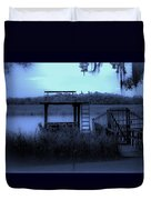 A Quiet Place By The Marsh Duvet Cover