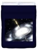 A Rare Galaxy That Is Extremely Dusty Duvet Cover by Stocktrek Images