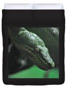 A Real Reptile Duvet Cover