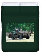 A Recce Unit Of The Belgian Army Duvet Cover