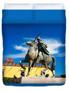 A Ride In The Clouds Duvet Cover