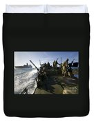 A Riverine Squadron Conducts Security Duvet Cover
