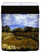 A Ruin In Sicily Duvet Cover
