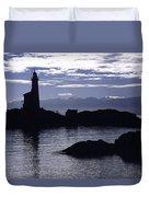 A Scenic Lighthouse Duvet Cover