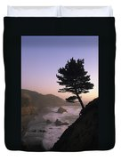 A Scenic View Of The Oregon Coast Duvet Cover