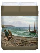 A Sea View Duvet Cover by Colin Hunter