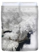 A Severe Winter Storm Duvet Cover