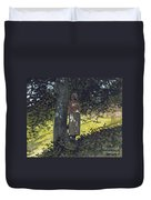 A Shady Spot Duvet Cover