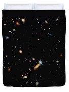 A Shot Of A Deep Space Photograph Duvet Cover