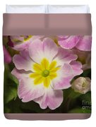 A Shy Flower  Duvet Cover