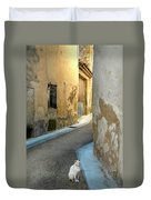 A Sidestreet In Provence Duvet Cover