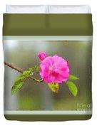 A Single Rose Duvet Cover