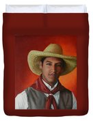 A Smile From The Andes, Peru Impression Duvet Cover
