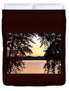 A Soothing Sunset Duvet Cover