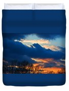 A Spring Sunset Duvet Cover