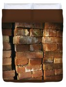 A Stack Of Bricks Duvet Cover