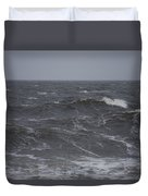 A Storm Lashed Hudsons Bay In Autumn Duvet Cover