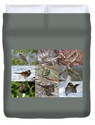 A Study In Sparrows Duvet Cover