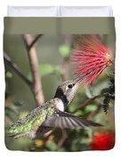 A Taste For Nectar  Duvet Cover