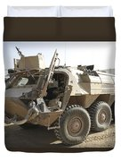 A Tpz Fuchs Armored Personnel Carrier Duvet Cover