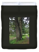 A Tree Divided Duvet Cover