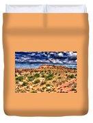 A Utah Landscape Duvet Cover