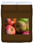 A Variety Of Apples Duvet Cover