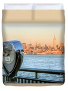 A View From New Jersey I Duvet Cover